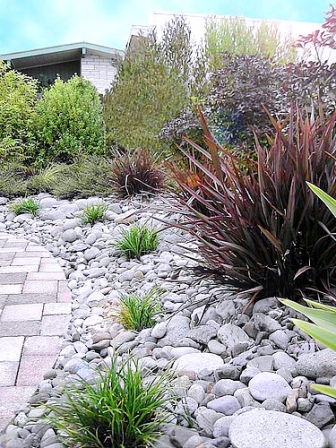River Rock Flower Bed Designs Home Design Elements