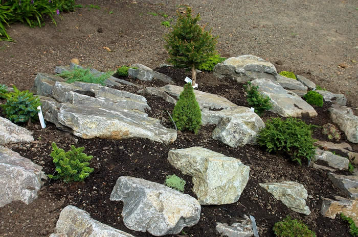 River Rock Garden Ideas Perfect Home And Garden Design